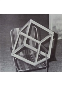 cube on lawn chair, from nine objects by gerhard richter