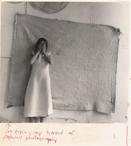 francesca woodman im trying my hand at fashion photography by francesca woodman