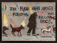 the man who dogs follow following dogs by terry allen