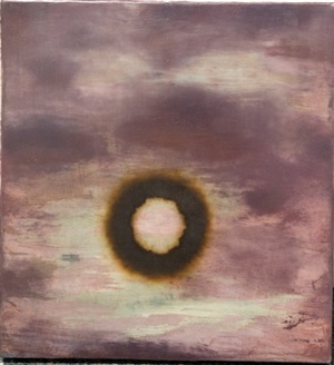 romantic painting no. 4 (halo) by dean smith