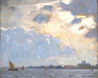 venetian sail by aldro thompson hibbard