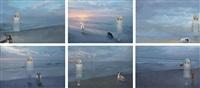 an artist with six dead dogs' spirits by araya rasdjarmrearnsook