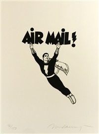 air mail by mel ramos