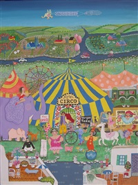 opening day at the circus by martha tominaga