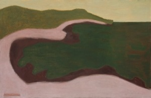 green seascape by milton avery