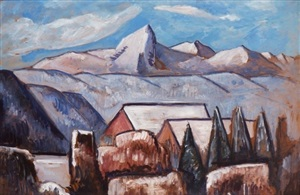 garmisch-partenkirchen by marsden hartley