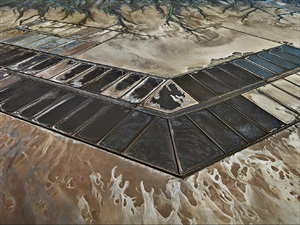 colorado river delta #7, abandoned shrimp farm, sonara, mexico by edward burtynsky
