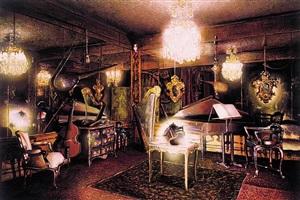 music room by robert yarber