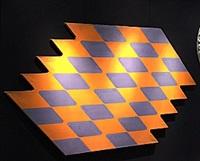 orange zigzag by neil williams