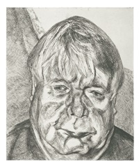 man by lucian freud