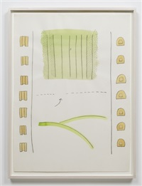 untitled (game drawing) by ree morton