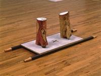 untitled (stretcher piece) by ree morton