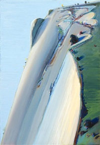 heart ridge by wayne thiebaud