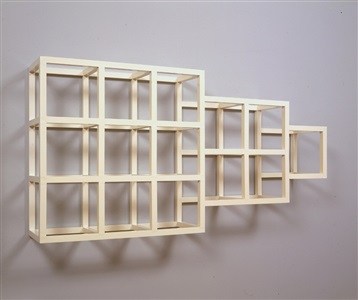 wall piece no 4 by sol lewitt