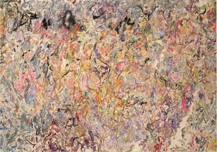 the armory show by larry poons