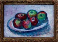 stillleben mit äpfeln by alexej jawlensky