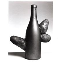untitled (phallic sculpture: bottle) by yayoi kusama