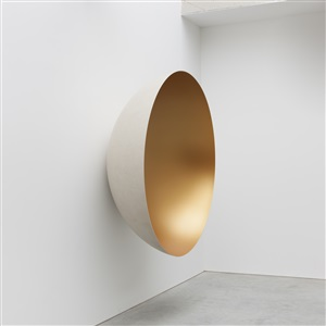 monochrome matt gold by anish kapoor