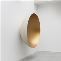 monochrome (matt gold) by anish kapoor