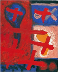 ohne titel / untitled by a.r. penck