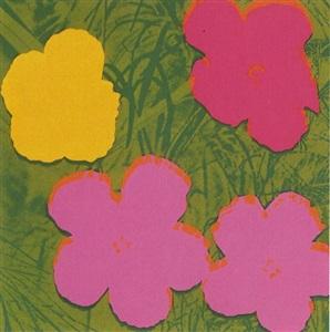 andy warhol flowers ii68