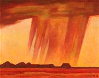 red rain by emil james bisttram