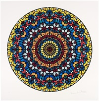 mescaline (lenticular) by damien hirst