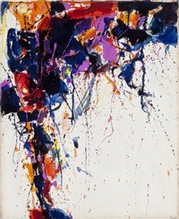 untitled (sff.262) by sam francis