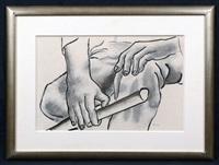 dessin de mains et baton by fernand léger