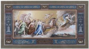 aurora, after guido reni; aurora, after guercino by michelangelo maestri