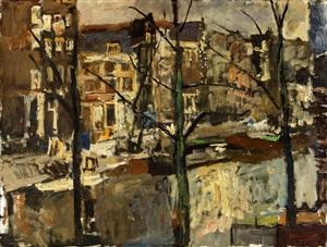 the singel, amsterdam by george hendrik breitner