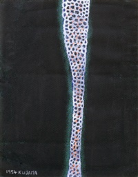 untitled (flower) by yayoi kusama