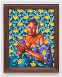 psyche abandoned (the world stage: haiti) by kehinde wiley