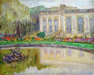 the grand trianon, versailles by léon detroy