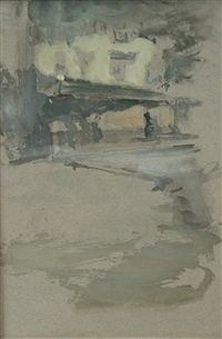 penthouse of the public house in st. ives, cornwall by james abbott mcneill whistler