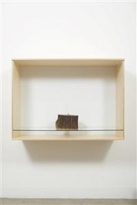 untitled (candle) by haim steinbach