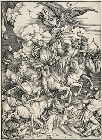 the four horsemen of the apocalypse by albrecht dürer