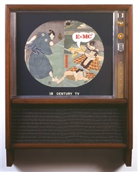 18th century tv by nam june paik