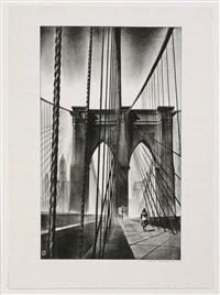brooklyn bridge by louis lozowick