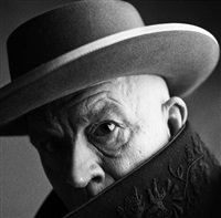 irving penn / pablo picasso, cannes, france (1957) by sandro miller