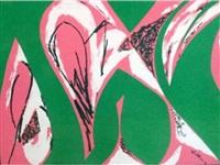 free space: (pink) by lee krasner