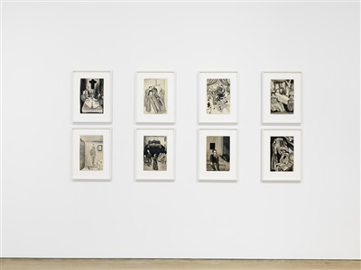 alice neel drawings and watercolors 1927 1978 2015 exhibition view