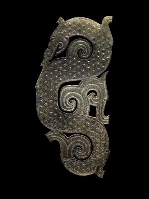dragon plaque pendant
