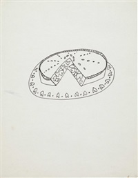 pie with hearts by andy warhol