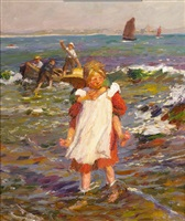 wading ashore by harold harvey