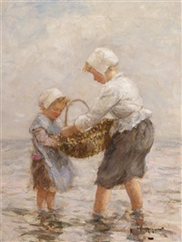 the shell gatherers by robert gemmell hutchison