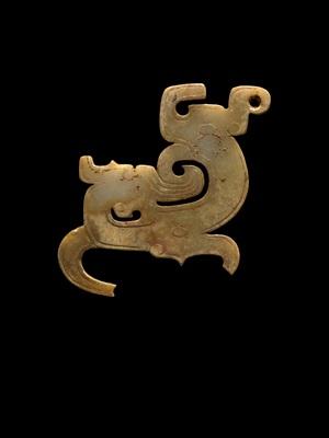 plaque ornament of a dragon