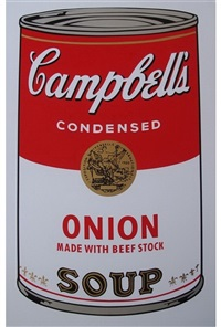 soup can i by andy warhol