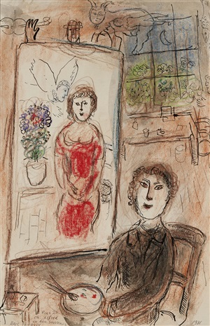 Hammer galleries artworks on artnet for Chagall peintre