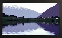 i had made a couple of animated films of rippling water… by julian opie